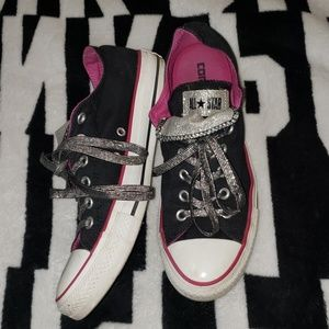 Converse All Star double tongue shoes